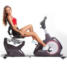 正品康乐佳健身车KLJ-8718R卧式磁控静音靠背室内运动健身器材