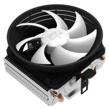 超频三(PCCOOLER)七星瓢虫V4 CPU散热器(10CM静音风扇/多平台/下吹式/小机箱适用/配硅脂)