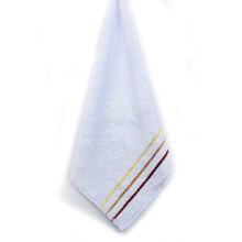 馨牌 毛巾家纺 彩缎竹纤维环保方巾 25*25cm 蓝色 单条装