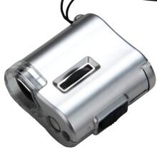 菲莱仕 FEIRSH 小巧60倍古玩珠宝鉴定放大镜 便携式带灯验钞印刷高清显微镜FE11