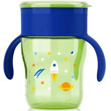 飞利浦新安怡 儿童水杯 学饮杯 自然啜饮杯 唇控式饮水 塑料 260ml蓝色 适合12M+ 进口 SCF782/16