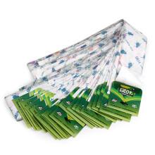 绿叶 粘蝇条 苍蝇贴 粘蝇纸 粘蝇彩带 除蚊虫粘纸含引诱剂30条装 JD3001