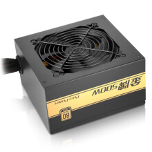 先马(SAMA)金牌500W 额定功率500W(全电压金牌/LLC谐振电路/固态电容/Puer Power)