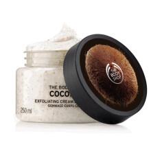 全球购              THE BODY SHOP 椰子去角质身体磨砂膏250ML去死皮