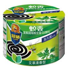 超威 盘香 艾草加大圈40单盘(塑桶) 驱蚊 灭蚊 蚊香 立白集团出品