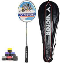 威克多Victor 胜利飓风TR-80 羽毛球拍 3U全碳素 单拍 赠手胶