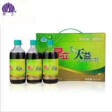 昂立 天益口服液 成人中老年辅助降血糖 增强免疫力500ml*3瓶 1盒装