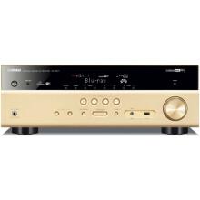 雅马哈(Yamaha)RX-V577 7.2声道 家庭影院 音响 数字功率放大器 wifi/支持3D 金色