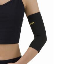 京东超市D&M日本运动护肘男女篮球护臂关节防护网羽球护肘套高弹透气721黑色S(22-26cm)一只装