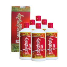 金沙回沙酒精品1.3多三两  48度625ml  贵州特产酱香型 多三两48度625ml(6瓶装)