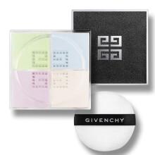 全球购              纪梵希(Givenchy)轻盈无痕明星四色散粉1号 12g(四宫格幻彩蜜粉 粉饼 定妆控油 紫色透亮)法国原装进口