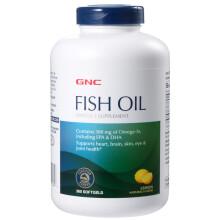京东国际              健安喜 GNC 深海鱼油软胶囊1000mg 360粒/瓶 欧米伽3 含EPA DHA 美国进口