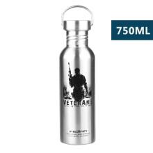 飞剑 304不锈钢运动水杯 户外单层水壶超大容量夏季便携骑行自行车杯子 水壶 运动水壶 水杯 杯子 战士750ml