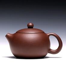 两笔 【】宜兴名家紫砂壶茶壶范林强 底槽清 全纯手工 西施