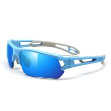 拓步Magic骑行眼镜户外通用运动防风骑行自行车眼镜 可换镜腿 户外运动眼镜护目镜太阳镜 天空蓝+蓝REVO