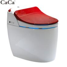 CaCa智能马桶一体机多功能即热式带遥控坐便器烘干座便器自动冲水彩色马桶250 350坑距 只拆旧测量不提供马桶 坑距400MM