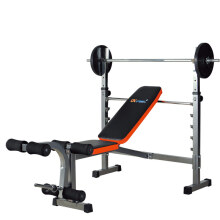康乐佳举重床杠铃床多功能卧推架杠铃架综合训练器(不包含杠铃杆和铃片) K3701