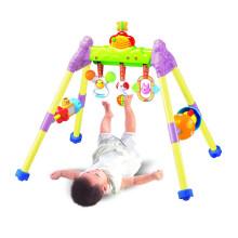 澳贝(AUBY) 宝宝婴儿音乐健身架463302DS玩具0-1岁运动健身器