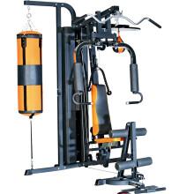 康乐佳多人站综合健身训练器多功能 家用运动器材 健身房大型健身器材组合力量训练器械 3005B轻商用综合力量训练器