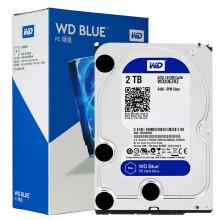 西部数据(WD)蓝盘 2TB SATA6Gb/s 64M 台式机硬盘(WD20EZRZ)
