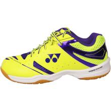 尤尼克斯YONEX羽毛球鞋YY男女鞋专业耐磨防滑SHB-200CR紫色/黄39码