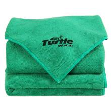 京东超市龟牌(Turtle Wax) 擦车巾 多功能擦车布  汽车用品洗车毛巾  擦车毛巾40*40cm 5条装