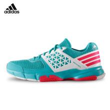 阿迪达斯 adidas 运动鞋男款 透气跑步网球鞋 超轻羽毛球鞋 AF4871 43码 绿