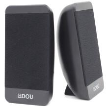 亿豆(EDOU) Ed-m608 2.0声道 线控 USB 笔记本电脑音箱 黑色