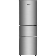 美菱(MeiLing) BCD-206L3CT 206升 三门冰箱 节能省电 (亚光银)