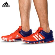 阿迪达斯adidas QUICKFORCE 5.1 运动鞋 男子网羽球鞋 羽毛球鞋 BY1818 红/蓝 7/40码 送袜子