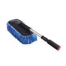 汽车用擦车刷子除尘掸子刷车扫灰软毛专用拖把洗车扫把工具用品 蓝色 奔驰A级 B级 C级 E级 S级 GL级