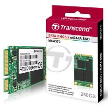 创见(Transcend)370系列 256G MSATA 固态硬盘(TS256GMSA370)
