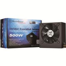 银欣(SilverStone)额定500W ST50F-ES230 ATX电源(80PLUS认证/单路12V/主动式PFC/12CM静音风扇)