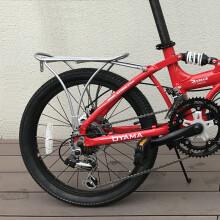 欧亚马 OYAMA折叠车自行车20寸/16寸铝合金铁质后货架 16寸铁货架 下单前请咨询客服