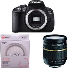 佳能(Canon) EOS 700D 单反机身(腾龙 SP AF17-50mm F/2.8  佳能卡口)
