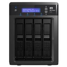 西部数据(WD) My Cloud EX4 8T NAS 网络存储 云存储 热拔插 红盘 16TB