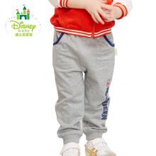 迪士尼(Disney)男童裤子秋季男宝宝运动裤纯棉休闲外出长裤171K736 深花灰 100cm
