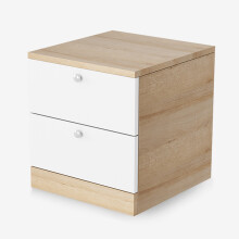 好事达易美定制床头柜 浅木纹BJ02