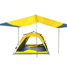 Tripolar户外帐篷4-5人超大天幕自动帐篷 双层多人野营帐篷防暴雨  TP2115 天幕帐篷标准版