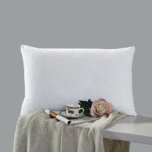 水星家纺  助眠超柔枕芯 枕头 床上用品 呵护枕一只 74*48cm