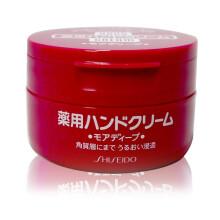 全球购              资生堂(Shiseido) 【日本进口】身体乳男女士嫩肤润肤身体乳 去鸡皮尿素 日版 尿素护手霜红罐100g