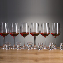 青苹果酒具13件套红酒杯*6+白酒杯*6+烟缸*1 JBZH01