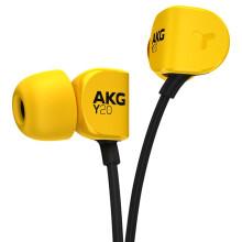 爱科技(AKG)Y20U 立体声入耳式耳机 手机耳机 麦克风通话耳机 黄色