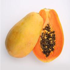 兴业源 海南红心木瓜 1粒装 单果重450g以上 新鲜水果
