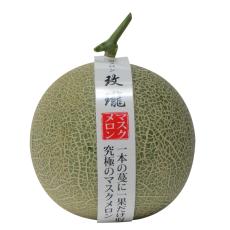 新鲜水果 海南玫珑蜜瓜 网纹瓜 净重2750g