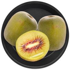 甄新鲜水果 蒲江红心猕猴桃12枚大果单果90-110g奇异果