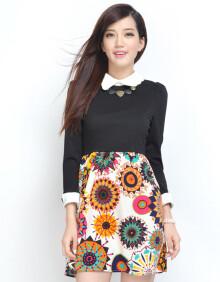 支持货到付款 连衣裙秋 2013秋装新品裙子 韩版
