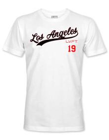 肌肉信仰健身LA短袖INS设计师款兄弟篮球训练跑步短袖休闲T恤男2020 白色 M(165-170)