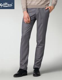 金利来2020春夏新款男士舒适合体修身商务正装西裤长裤 浅灰 29