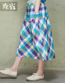 森宿半身裙图片